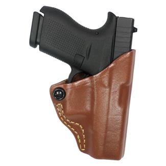 Gould & Goodrich Concealment Belt Slide Tension Holster Chestnut Brown