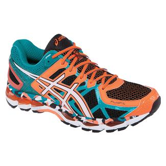 ASICS GEL-Kayano 21 Black / White / Capri Breeze