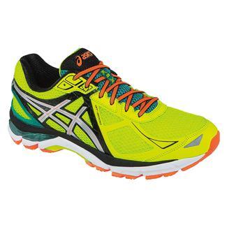 ASICS GT-2000 3 Flash Yellow / Silver / Emerald Green