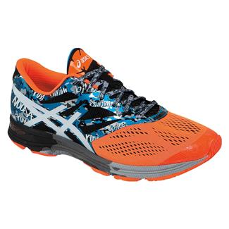 ASICS GEL-Noosa Tri 10 Onyx / White / Flash Orange