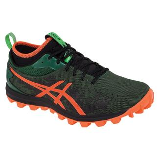 ASICS GEL-Fujirunnagade Dark Green / Flash Orange / Black