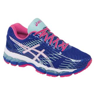 ASICS GEL-Nimbus 17 Deep Blue / White / Hot Pink
