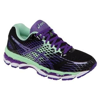 ASICS GEL-Nimbus 17 Onyx / Purple / Mint
