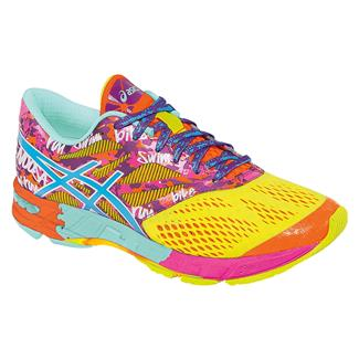 ASICS GEL-Noosa Tri 10 Flash Yellow / Turquoise / Flash Pink