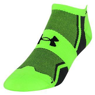 Under Armour Speedform Socks Hyper Green / Graphite