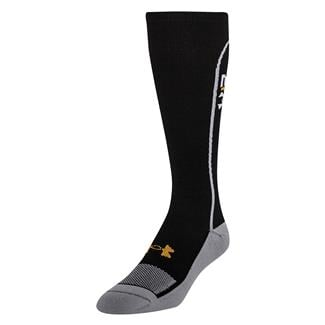 Under Armour Recharge II Compression Over The Calf Socks Black