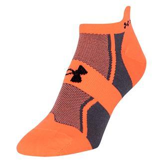Under Armour Speedform Socks After Burn Orange / Graphite