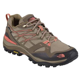 The North Face Hedgehog Fastpack GTX Cub Brown / Fiesta Red