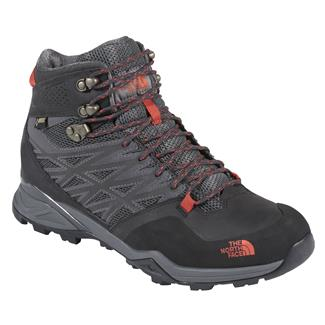 The North Face Hedgehog Hike Mid GTX Dark Shadow / Zion Orange