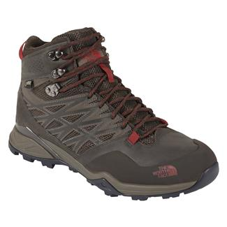 The North Face Hedgehog Hike Mid GTX Weimaraner Brown / Rosewood Red