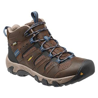 Keen Koven Mid WP Cascade Brown / Ensign Blue