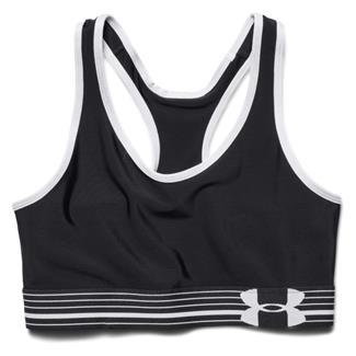 Under Armour HeatGear Sports Bra Black