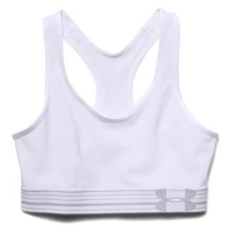 Under Armour HeatGear Sports Bra White