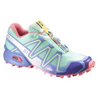 Salomon Speedcross 3 Lucite Green / Petunia Blue / Melon Bloom