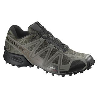 Salomon Speedcross 3 Camo Titanium / Dark Titanium / Swamp