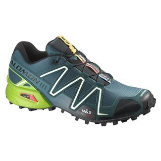 Salomon Speedcross 3 Cobalt Blue / Granny Green / Black