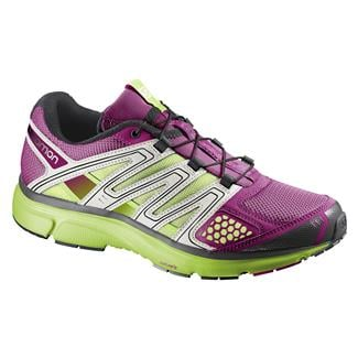 Salomon X-Mission 2 Mystic Purple / Light Gray / Granny Green
