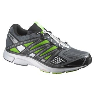 Salomon X-Mission 2 Gray Denim / Light Onyx / Spring Green