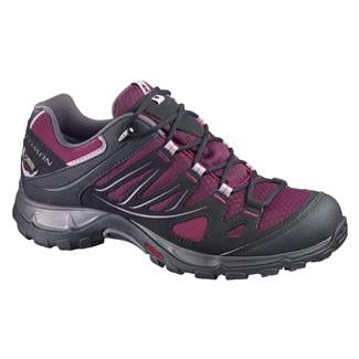 Salomon Ellipse GTX Bordeaux / Black / Crocus Purple