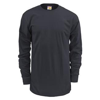 Soffe Dri-Release Long Sleeve T-Shirt Black