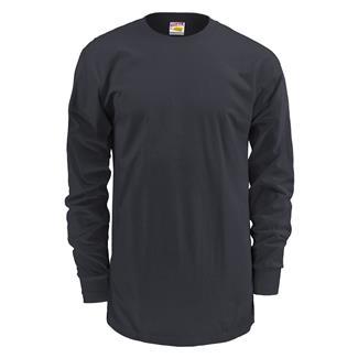 Soffe Dri-Release Long Sleeve T-Shirt Black