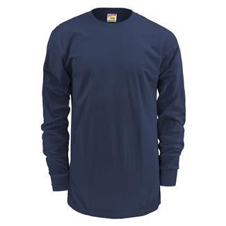 Soffe Dri-Release Long Sleeve T-Shirt Navy