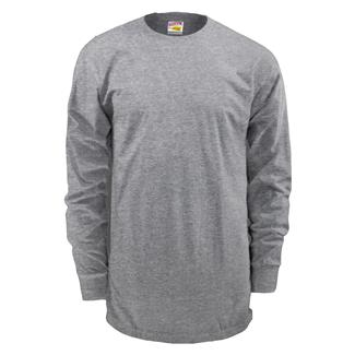 Soffe Dri-Release Long Sleeve T-Shirt Light Grey
