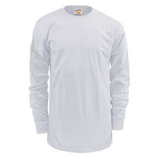 Soffe Dri-Release Long Sleeve T-Shirt White