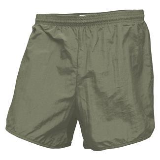 Soffe Navy PT Running Shorts Olive Drab