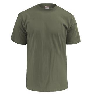 Soffe Lightweight Crew Neck T-Shirt (3 Pack) Olive Drab