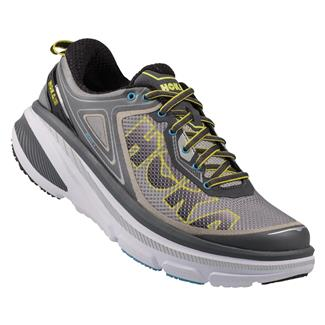 Hoka One One Bondi 4 Gray / Citrus / Cyan