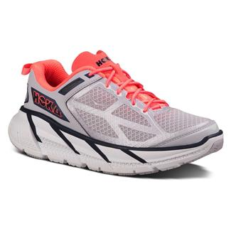 Hoka One One Clifton Evening Haze / Neon Coral