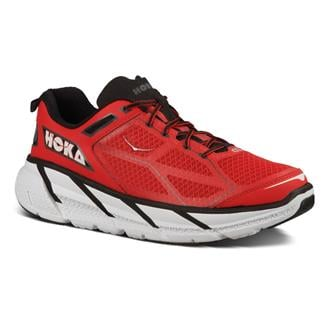 Hoka One One Clifton True Red / Black