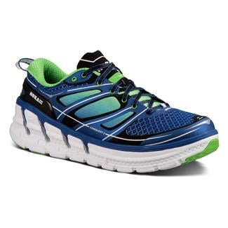 Hoka One One Conquest 2 Blue / Green Flash / White