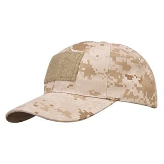 Propper Cotton / Poly Ripstop 6-Panel Hat With Loop Field Digital Desert