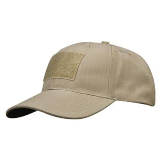 Propper Poly / Cotton Ripstop 6-Panel Hat With Loop Field Khaki
