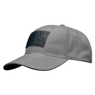 Propper Poly / Cotton Ripstop 6-Panel Hat With Loop Field Gray
