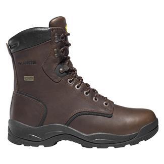 """LaCrosse 8"""" Quad Comfort 4X8 WP Dark Brown"""