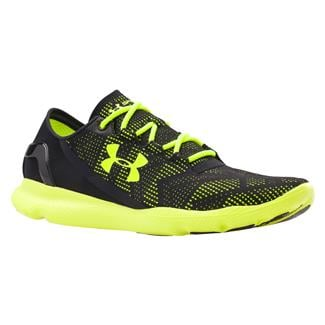 Under Armour SpeedForm Apollo Vent Black / High-Vis Yellow / High-Vis Yellow