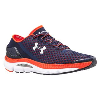 Under Armour SpeedForm Gemini Midnight Navy / Bolt Orange / White