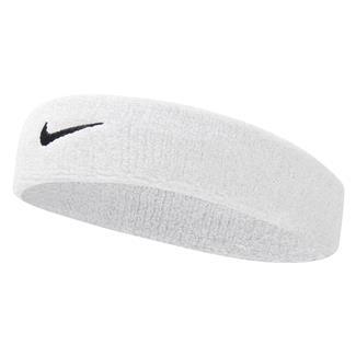 NIKE Swoosh Headband White / Black