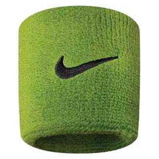 NIKE Swoosh Wristband (2 pack) Atomic Green / Black