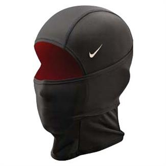 NIKE Pro Combat Hyperwarm Hydropull Hood Black / Gym Red