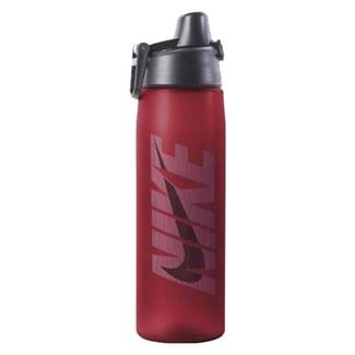 NIKE Core Hydro Flow Graphic Water Bottle Sport Red / University Blue / Dark Obsidian