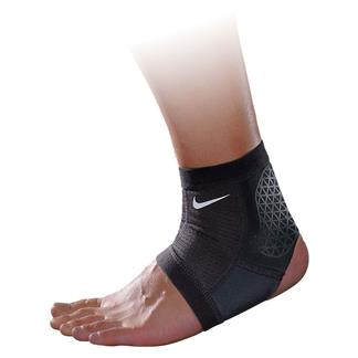 NIKE Pro Combat Hyperstrong Ankle Sleeve Black / Black