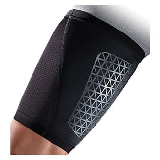 NIKE Pro Combat Hyperstrong Thigh Sleeve Black / Black