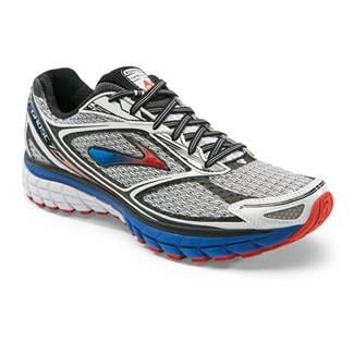 Brooks Ghost 7 White / Electric / Torch