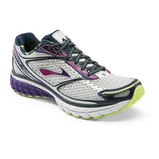 Brooks Ghost 7 White / Heliotrope / Sharp Green