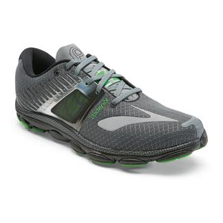 Brooks PureCadence 4 Urban Gray / Classic Green / Black