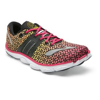 Brooks PureConnect 4 Raspberry / Sun Orange / Vibrant Yellow